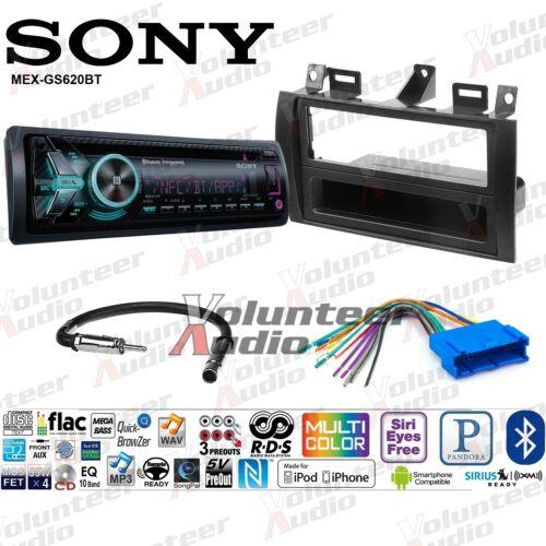 Sony MEX-GS620BT Single Din CD Player Car Radio Install Kit Bluetooth