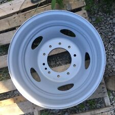 "FORD 19.5 DUAL WHEEL F450 F550 10 LUG STEEL WHEEL 19.5 OEM 2005 - 2017 - 6"" WIDE"