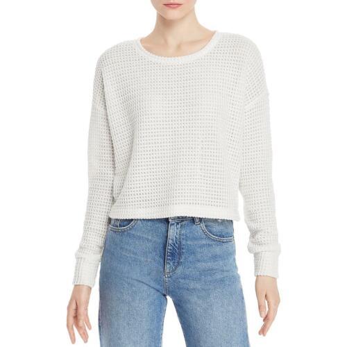 Splendid Womens Angler Waffle Knit Lightweight Pullover Sweater Top BHFO 4387