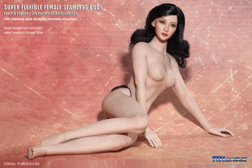Tbleague 1//6 Mid Seno Donna Super Flessibili senza Saldatura Figura modello S16A