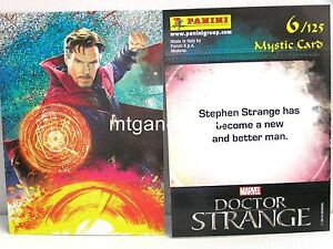 Doctor-Strange-Movie-Trading-Card-1x-006-Mystic-Card-Foil-TCG