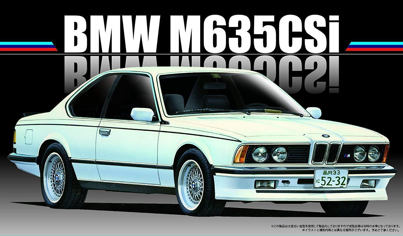 Fujimi RS-24 BMW M635CSi 1 24 Escala Kit