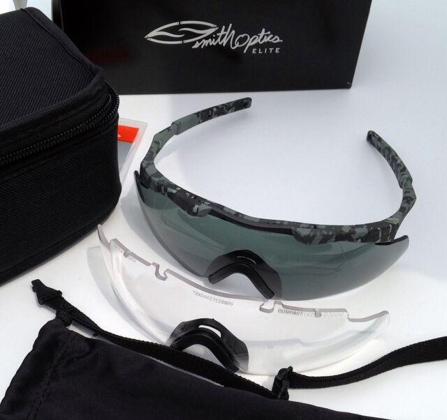 cb3518f0e6 Smith Aegis Compact Eyeshield Sunglasses Kit-Urban Digital Gray Clear Lenses