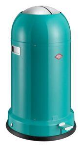 Wesco-Kickmaster-Classic-33-L-Turquoise-Pedal-Bin-Garbage-Bin-Dustbin