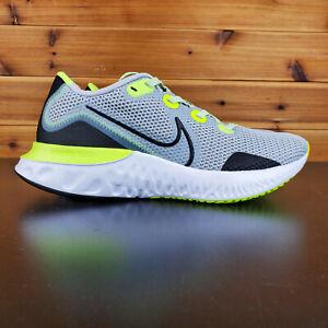 Nike-Renew-Run-Black-White-Volt-Mens-Running-Shoes-CK6357-006