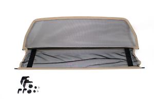 Coupe-vent-Filet-anti-remous-BEIGE-MERCEDES-CLK-W208-A208-Cabrio