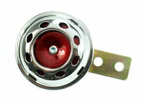 Velomoteur-Klaxon-signal-Horn-Chrome-12v-passeport-F-samson-s51-s53-s70-sr50-Kreidler-12-volts