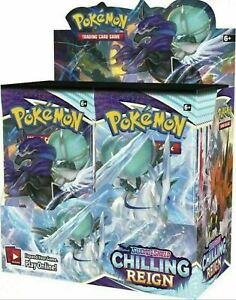 Pokemon Chilling Reign Booster Box 36 Pack Pre-Sale Ships 6/18 SEALED NEW
