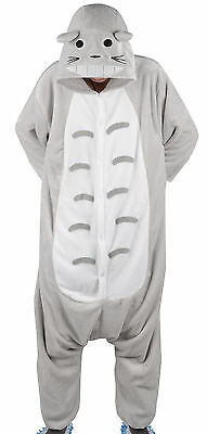 Unisex Adult Pajamas Kigurumi Cosplay Costume Animal Sleepwear Totoro