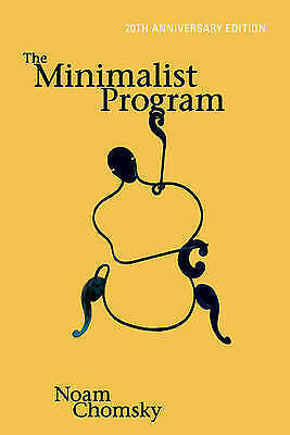 1 of 1 - The Minimalist Program (Current Studies in Linguistics), Good Condition Book, Ch