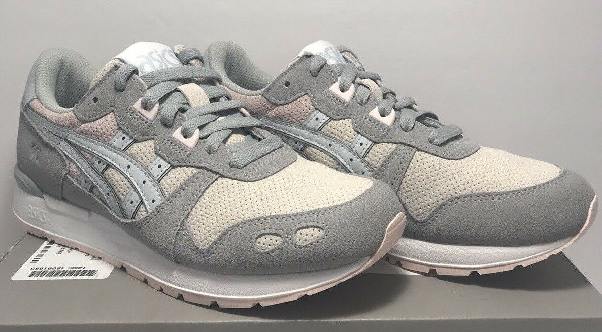Asics Tiger Womens Size 7.5 GEL-LYTE Grey Pink Athletic Running Sneakers shoes