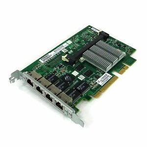 HP-Quad-Port-Gigabit-Scheda-di-rete-PCIe-STAFFA-468001-001-491830-001