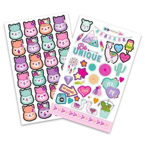 Top Model Alpaka Stickerbuch Stickerblock Apricot oder Rosa Depesche 10354