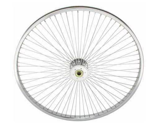 26  x 1.75 Hollow Hub Wheel 72 Spokes Cruiser Lowrider Trike Bikes