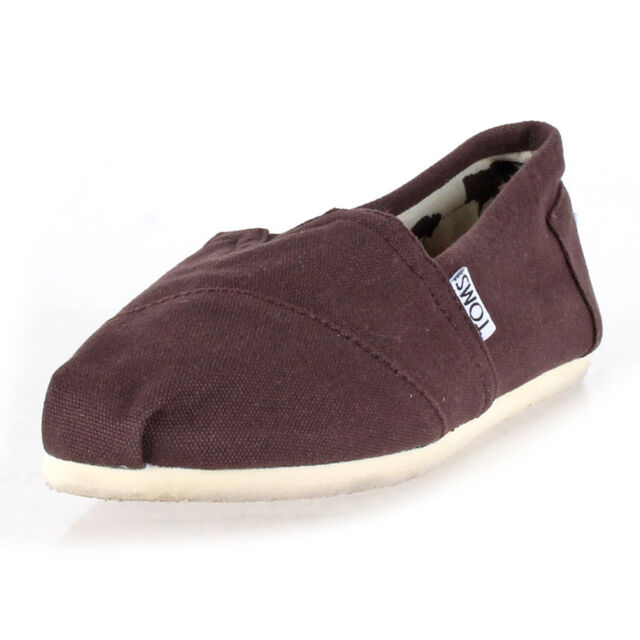 Toms Classic Chocolate Canvas Womens