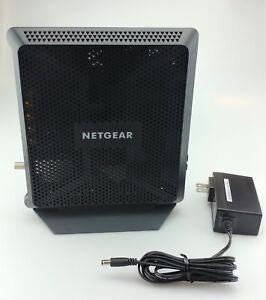 Netgear-Nighthawk-AC1900-WiFi-Cable-Modem-Router-C7000-100NAS-Good-Shape