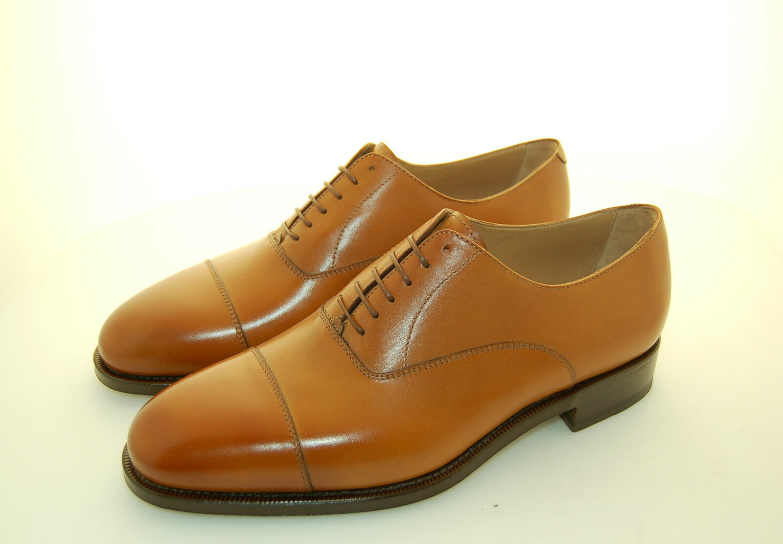 MAN-OXFORD CAPTOE-CALF RUSTIC BOMBAY-FRANCESINA VITELLO-LTHR SOLE-SUOLA CUOIO