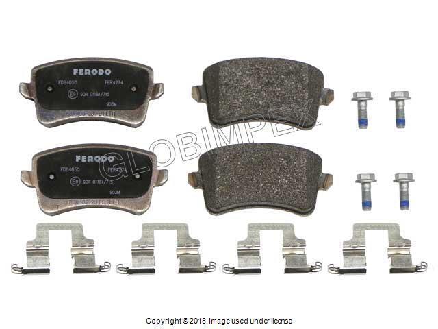 AUDI A6 A6//A7 Quattro RS5 Warranty 2012-2016 Brake Pad Set REAR FERODO OEM
