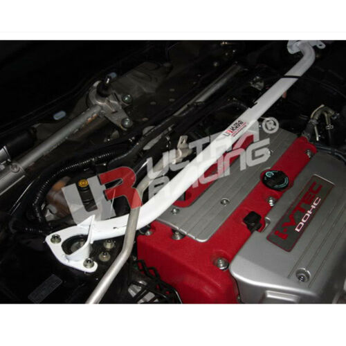 Fit 2003-2007 Honda Accord CL7 Ultra Racing Steel Front Upper Strut Tower Bar