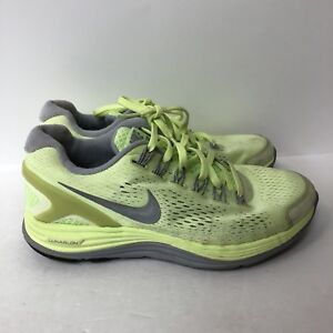 dc8ca5c70697f nike lunarglide 4 Running Shoes Sneakers Women Size 6.5 Green Color ...