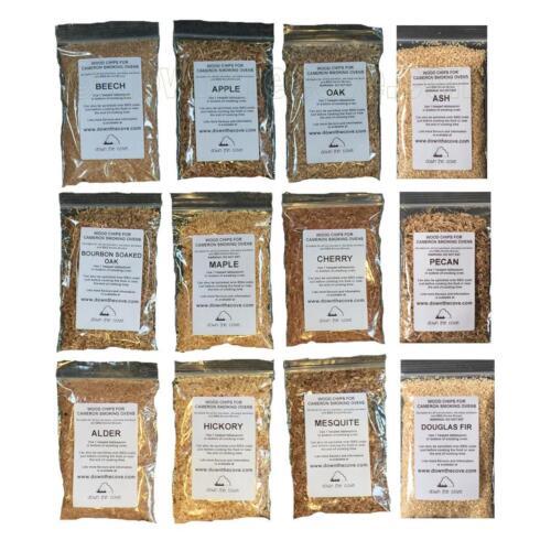 Sampler Pack de astillas de madera para fumar Hornos-todos 12 sabores Fast FREE post!