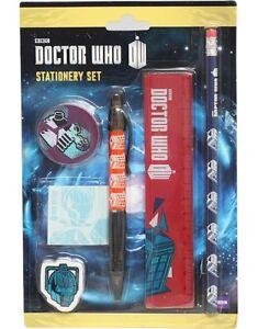 """Sportif Doctor Who Stationery Set-grande Valeur Et Un Idéal """"tout Temps"""" Cadeau-neuf-afficher Le Titre D'origine Exquis (En) Finition"""