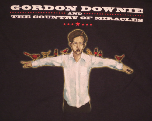 Gord Downie & The Country of Miracles Tour T Shirt