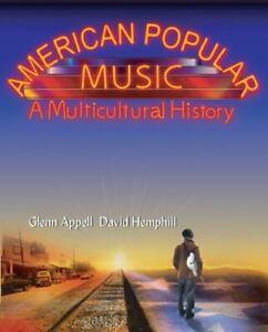 American Popular Music : a Multicultural History by Glenn Appell; David Hemphill