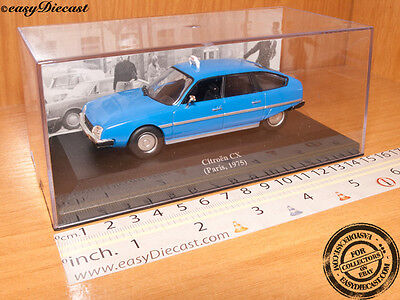 CITROEN CX TAXI CAB 1:43 PARIS (FRANCE) 1975 BLUE MINT!!!