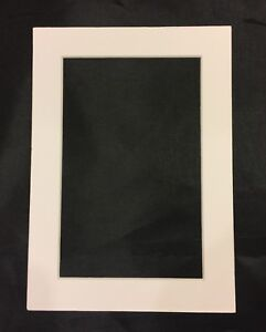 5x7 White Frame Mat For 4x6 Photo Ebay
