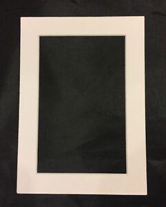 5x7 White Frame Mat For 4x6 Photo Ebay