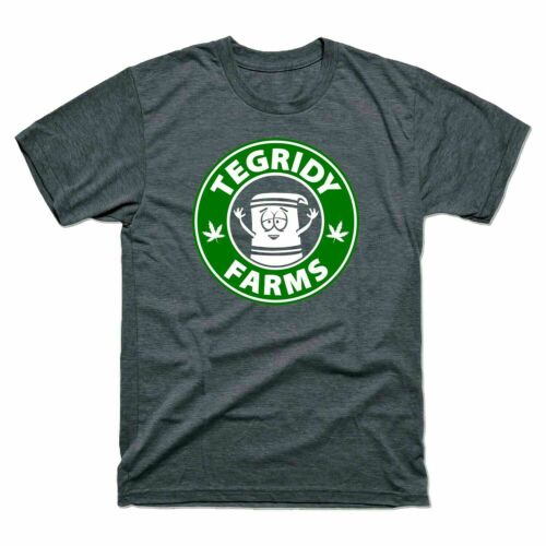 Tegridy Farms Tee Mens Short Sleeve T Shirt Cotton Tee Top Vintage Men Gift Tee