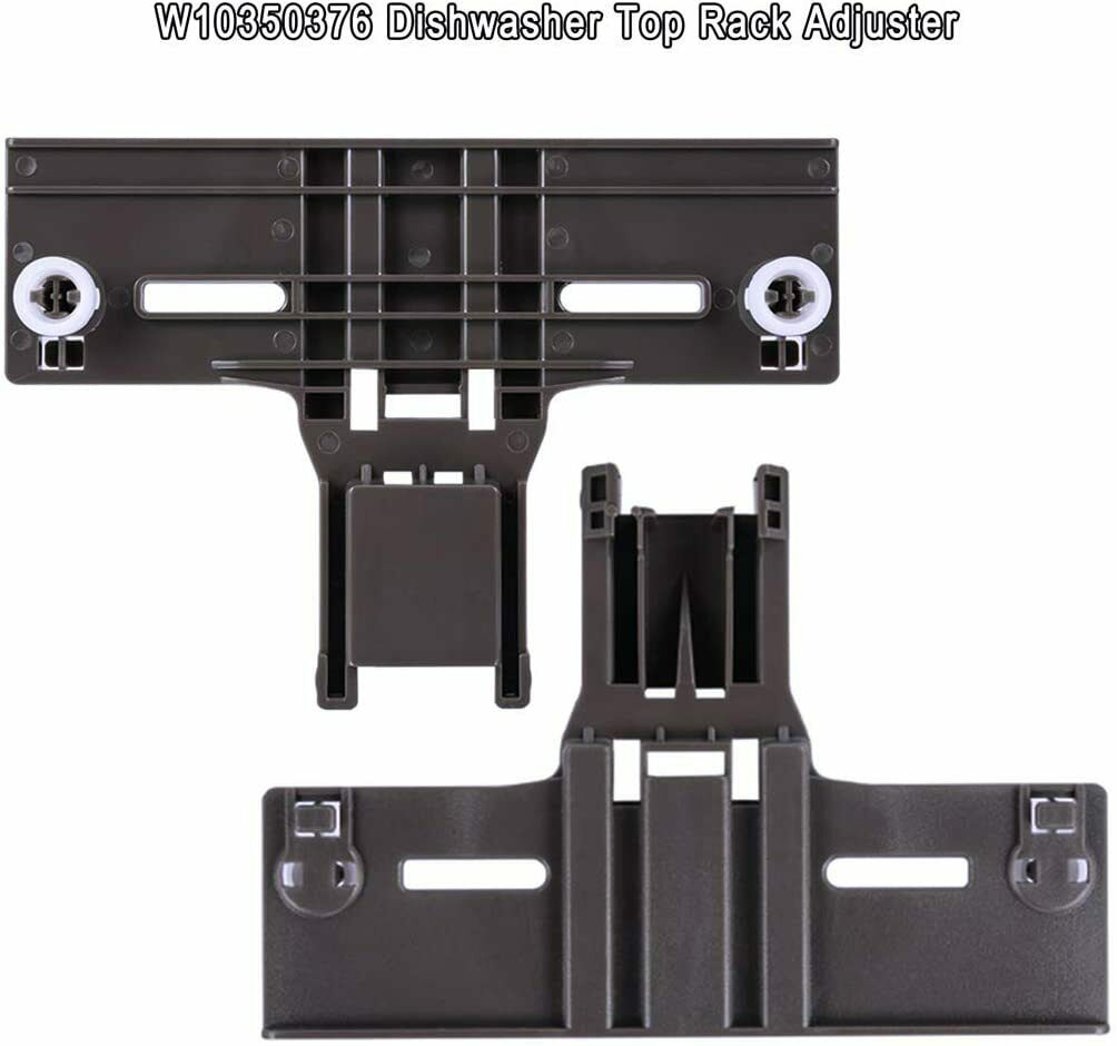 Upgraded 10 Pcs Polymer Material W10350376 Dishwasher Top Rack ...