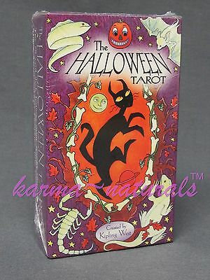 HALLOWEEN Tarot Card Deck - by Kipling West - NEW Divination