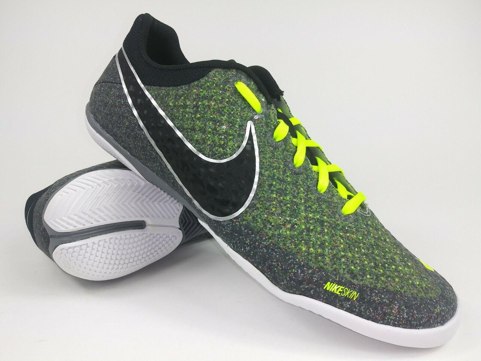 Nike Mens Rare Elastico Finale ll  580457 007 Grün Weiß Indoor schuhe Größe 8