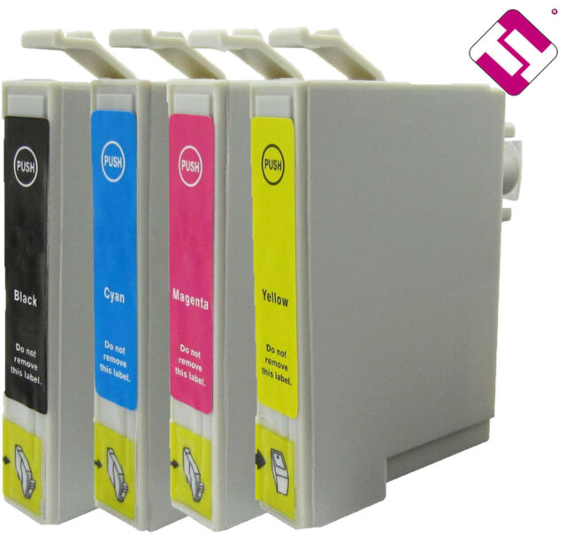 10 Cartridges Compatible Ink T1285 Nonoem for New Stylus Office Sx230