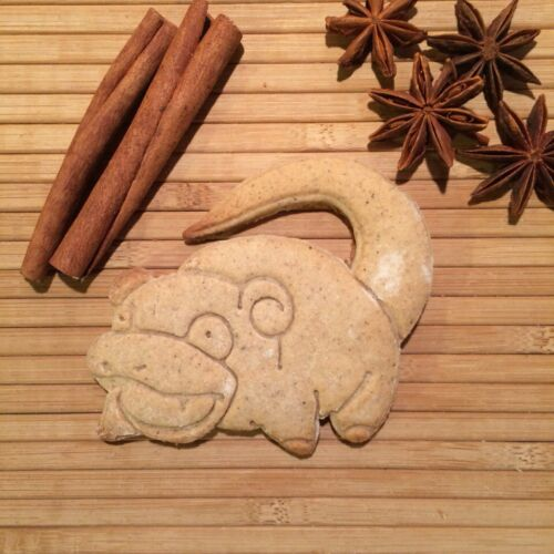 1pcs-Plastique 3d Imprimé Pla Pokemon-Slowpoke Cookie Cutter