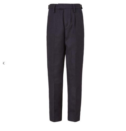 John Lewis Garçons entretien facile réglable à la taille coupe ajustée School Pantalon W32R