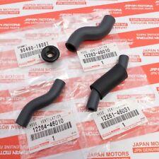 Orange 2JZ GTE Silicone Valve Cover Ventilation Hoses 12264-46010 12263-46010