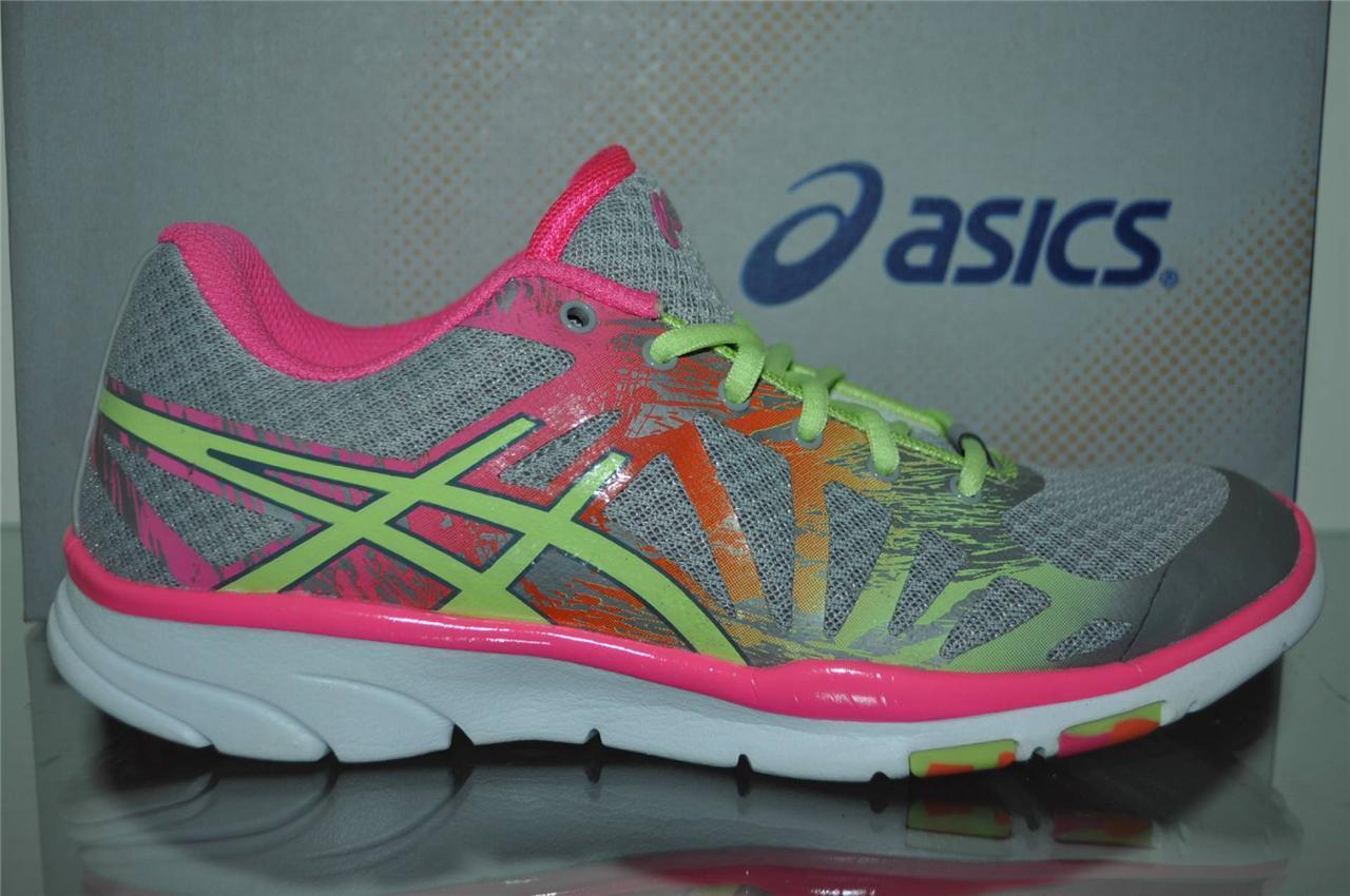 ASICS S453Y Gel Harmony TR 2 S453Y ASICS 1405 Womens Training Shoes Penguin/Limeade/Pink NIB 1fa8a5