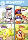 4 Kid Favorites Baby Looney Tunes DVD Region 1 US IMPORT NTSC Good Con