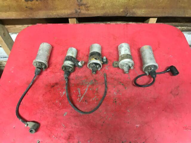 Bsa B44 441 Victor Parts Lot Coil Spark Plug Wire B25 Lucas