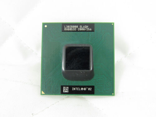 SL6QH Intel Mobile Celeron 2 GHz Processor RH80532NC041256 micro-FCPGA