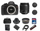 NEW Canon EOS Rebel T5 DSLR 18.0MP Camera w/ EF-S 18-55mm IS II Lens (2 LENSES)