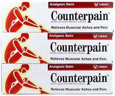 3x120 g. COUNTERPAIN HOT ANALGESIC WARM BALM CREAM MUSCLE PAIN TENSION RELIEF