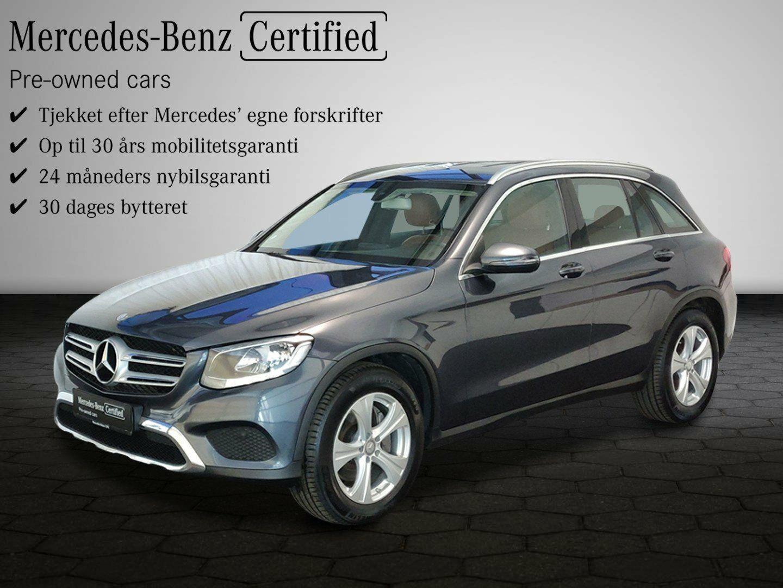Mercedes GLC220 d 2,2 aut. 4-M 5d - 494.900 kr.
