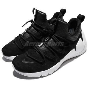 buy online 362ce 11db6 Image is loading Nike-Air-Zoom-Grade-Black-White-Quick-Lacing-