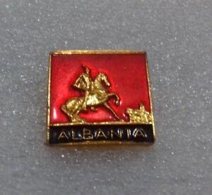 ORIGINAL  ALBANIAN PIN NEW