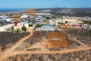 Terreno en venta con uso de suelo H3 a un costado de Carretera Todos  Santos,  Cabo San Lucas.