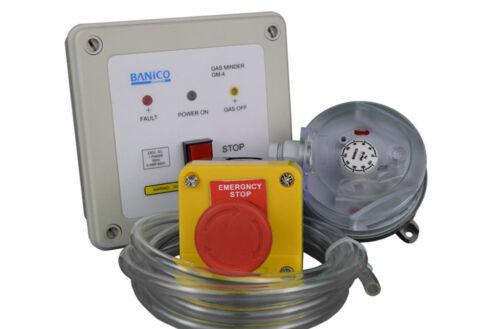 Gas Interlock Minder Safety Isolator System Kit  Kitchen Extraction ISP 3